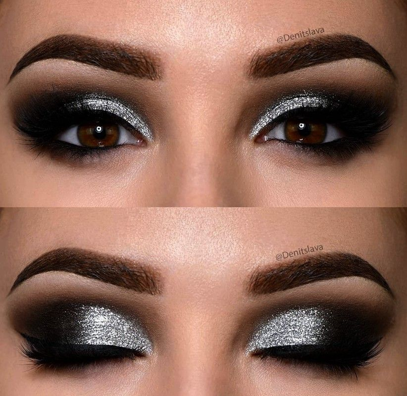 Natural Eye Makeup Ideas For Brown Eyes -  Cool 35 Natural Eye Makeup Ideas For Brown Eyes /…  -3