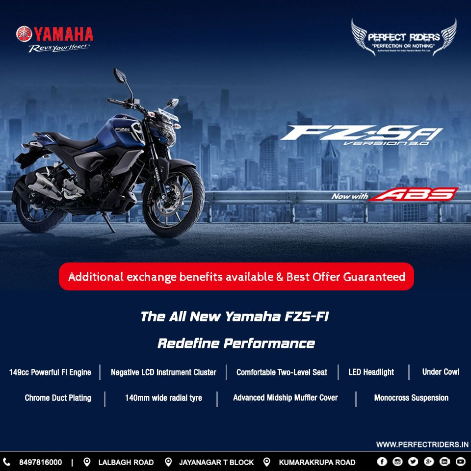 All New Yamaha Fz Sfi With Enhancing Performance And Mileage Know