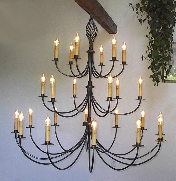 Large Iron Chandelier: 17 Best images about Chandeliers on Pinterest | Rustic lighting, Extension  cords and Wrought iron,Lighting