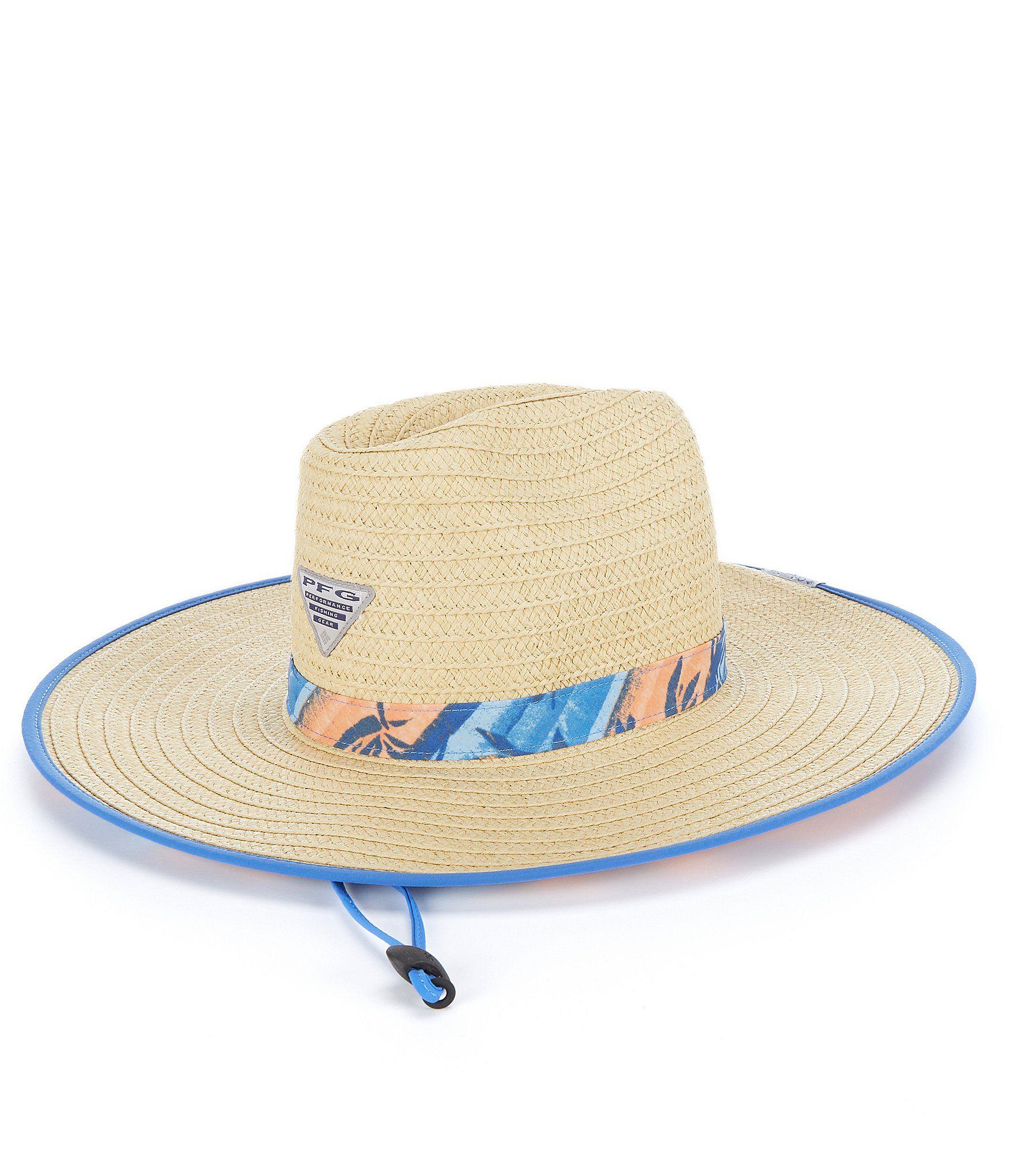 Columbia Pfg Baha Straw Hat Dillard S In 2021 Straw Hat Columbia Hats