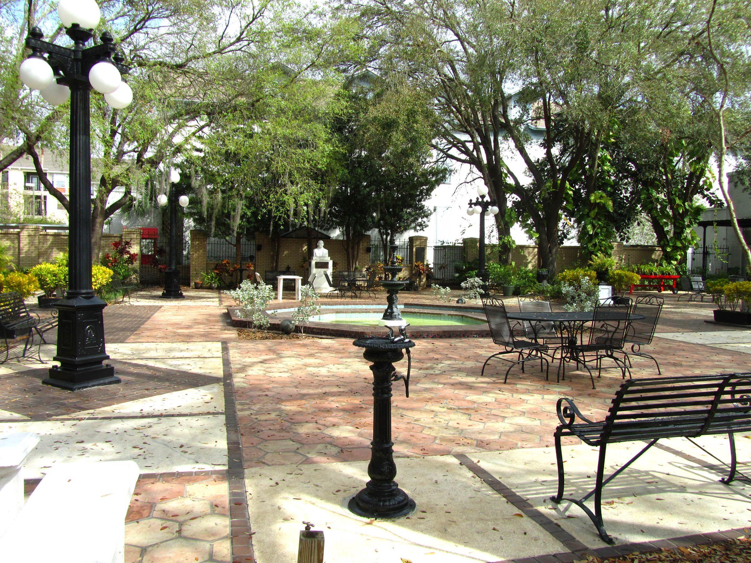 Ybor City Museum Garden
