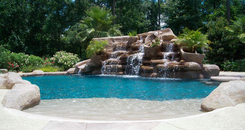 Houston Pool Design photos, Katy, Cypress | Pools for Someday ...