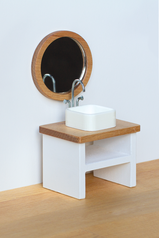 Dollhouse wooden furniture