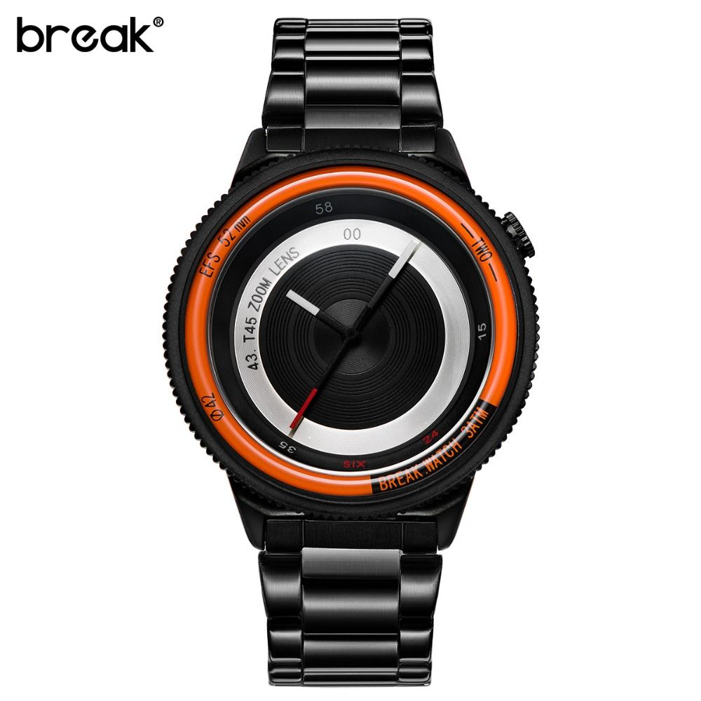 Break Brand Original New Unique Luxury Men Women Unisex Fashion Casual Sports Cool Quartz Camera Photographer Creative Watches //Price: $42.84 & FREE Shipping //     #hairextension #style #beauty #woman #love