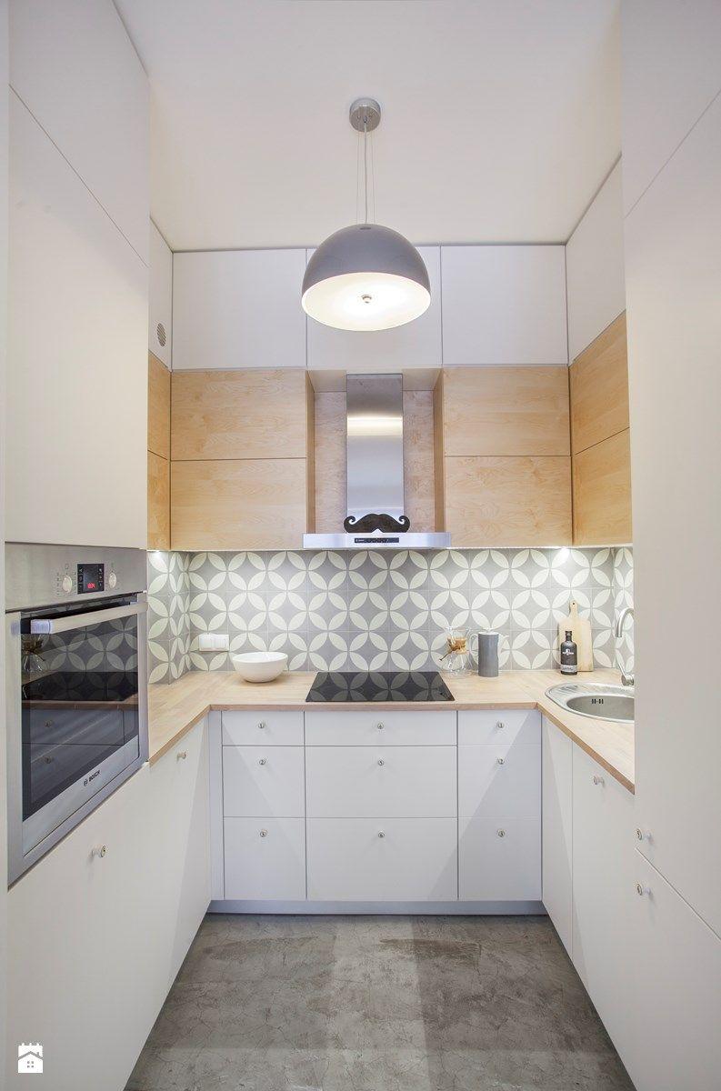 Mieszkanie Dla Singla Mała Kuchnia W Kształcie Litery U