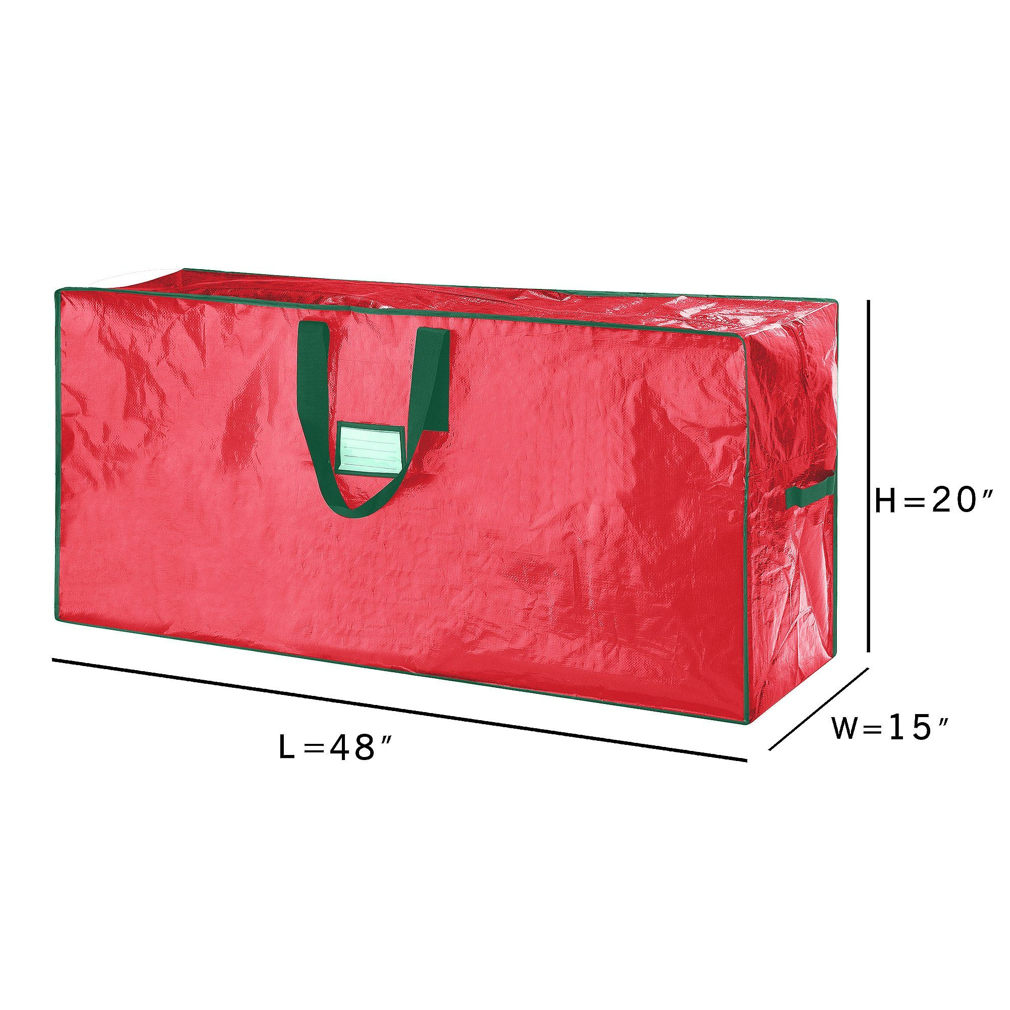 Elf Stor Premium Christmas Tree Bag Holiday Large For Up To 7 5 Ft Tree Continue To The P Christmas Tree Storage Bag Tree Storage Bag Christmas Tree Storage