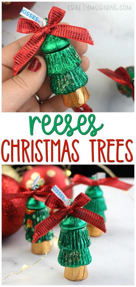 Make Some Fun Reeses Christmas Trees Fun Christmas Gift Ideas Christmas Treats To Give Rol Homemade Christmas Homemade Christmas Gifts Best Christmas Gifts