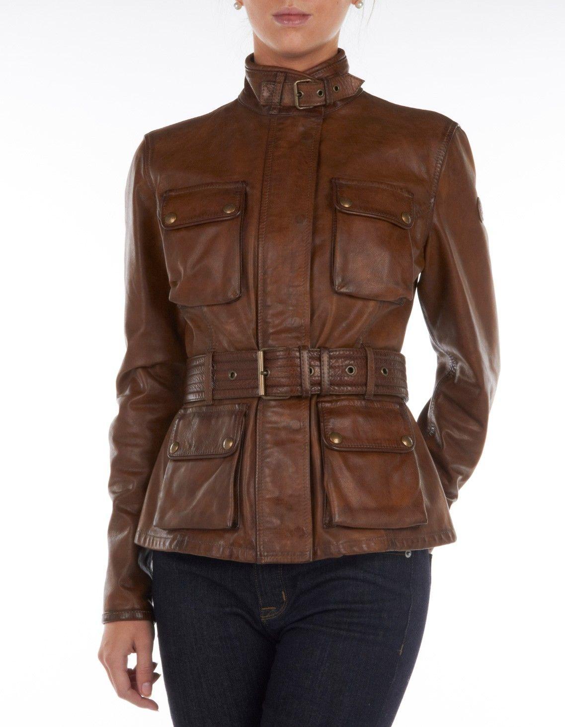 Belstaff Triumph Leather Jacket Stylish Motorcycles