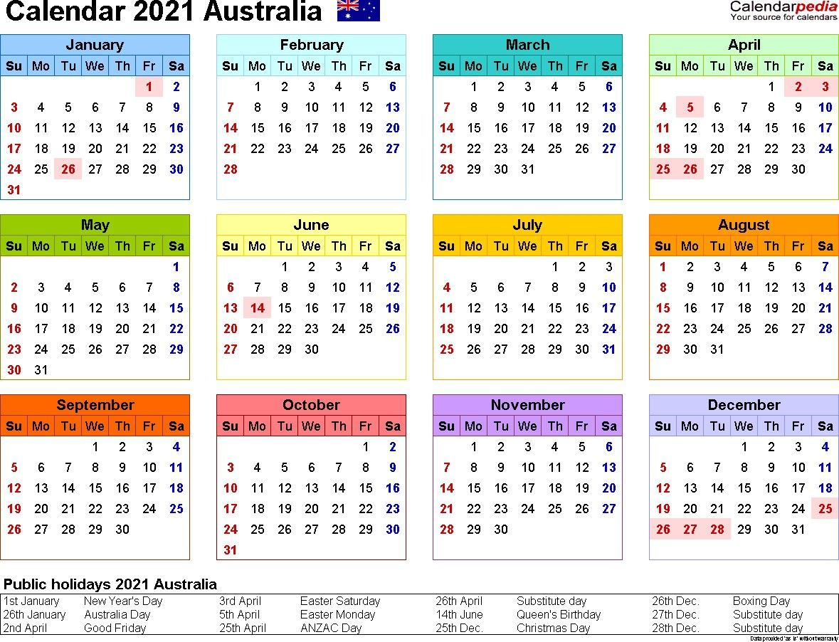 January February 2021 Calendar Australia In 2020 Printable Calendar Design Yearly Calendar Template 2020 Calendar Template