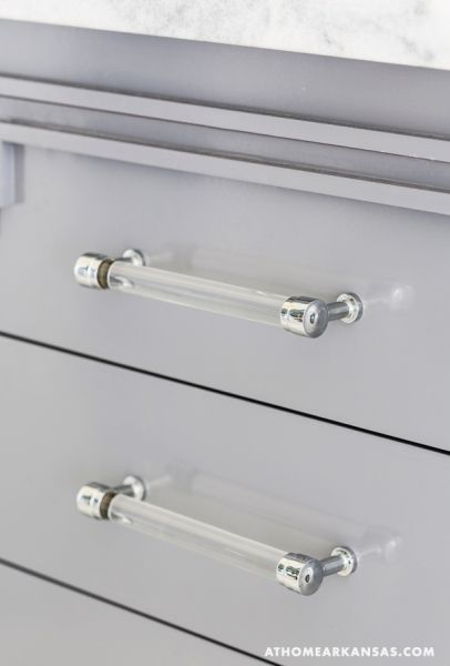 Image Result For Lucite Cabinet Pulls
