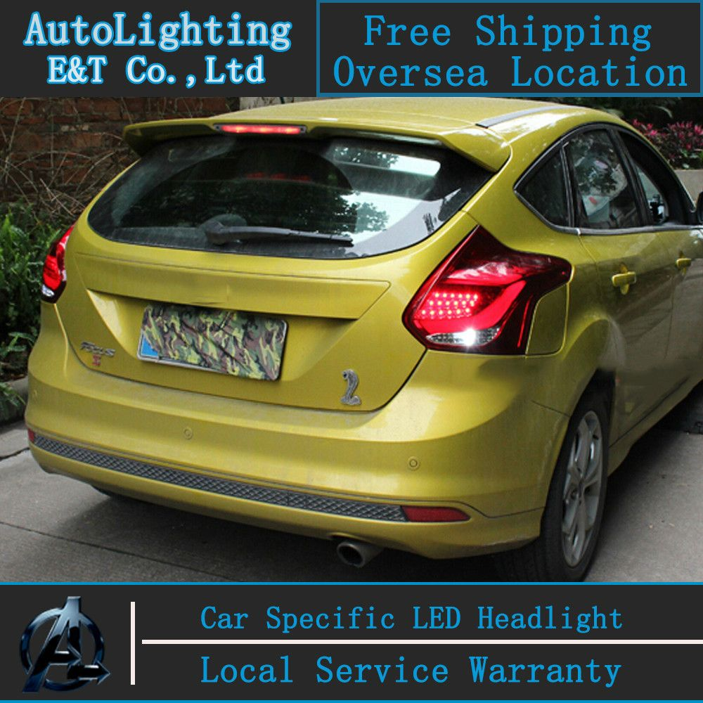 Auto Lighting Style Led Tail Lamp For Ford Focus Hatchback 2012 Led Tail Lights Drl Rear Trunk Lamp Cover Signal Ford Focus Hatchback Led Tail Lights Hatchback