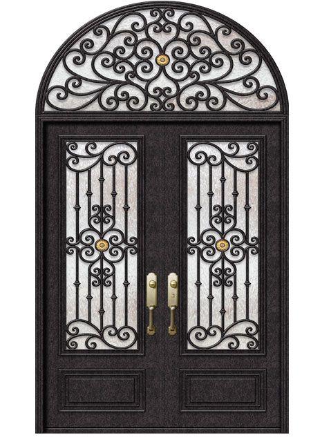 Premium Wrought Iron Front Doors Wrought Iron Shop Doors