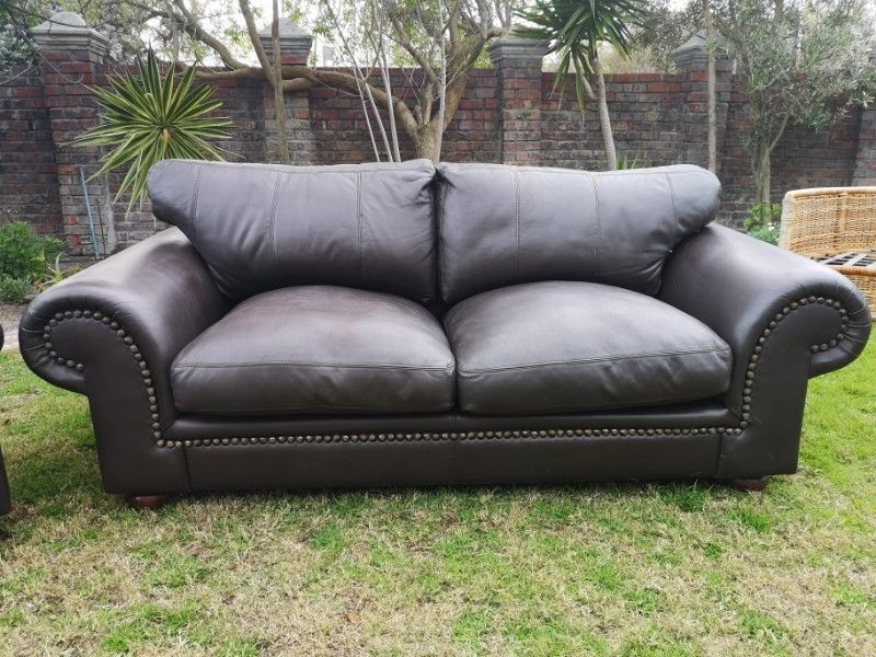 Stupendous Coricraft Leather Sofas Full Lounge Suite For Sale By Bobby Interior Design Ideas Gentotthenellocom