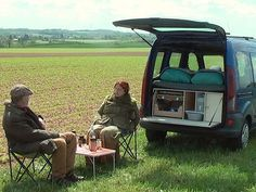 With the Camperbox you have all the ingredients necessary for enjoyable camping.