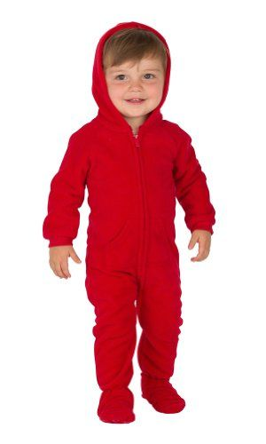 Footed Pajamas Bright Red Infant Hoodie One Piece - Extra Large Footed Pajamas http://www.amazon.com/dp/B00KG0D15U/ref=cm_sw_r_pi_dp_iZVeub12NKG7B