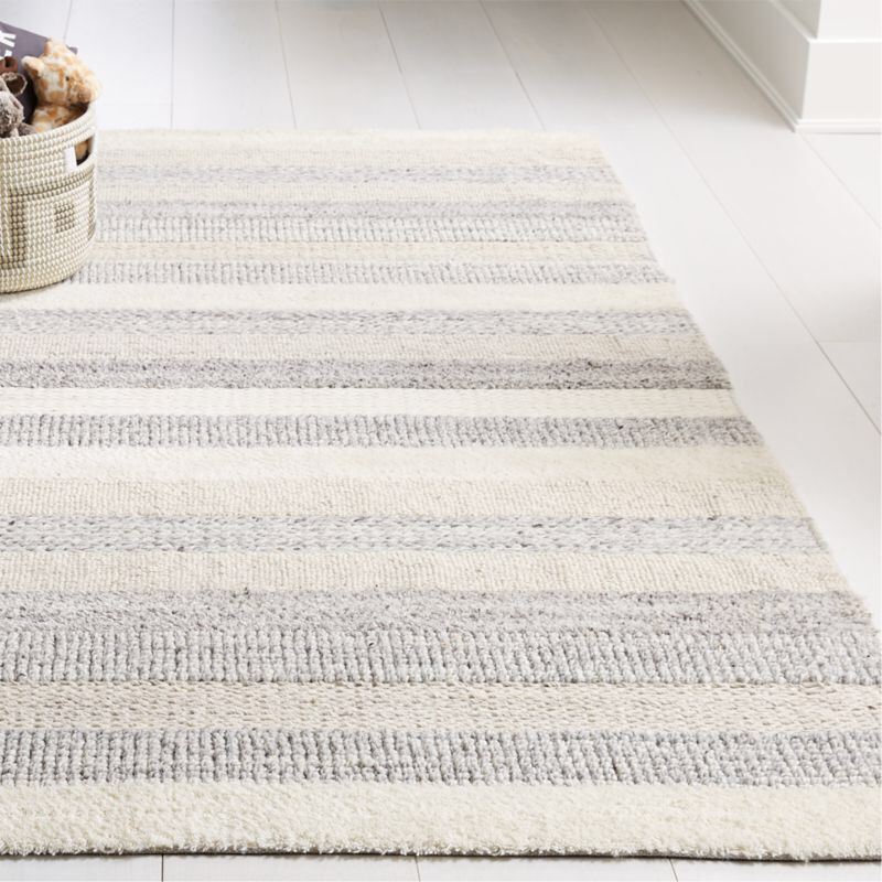 Handwoven Natural Rug Crate And Barrel In 2020 Natural Rug Girls Rugs Crate And Barrel