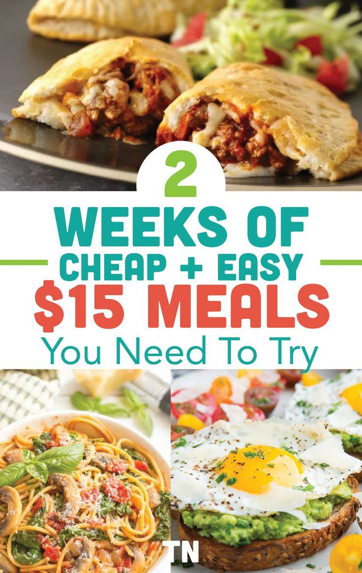 Cheap Dinner Ideas To Stay Under Your Meal Budget | Recipe ...