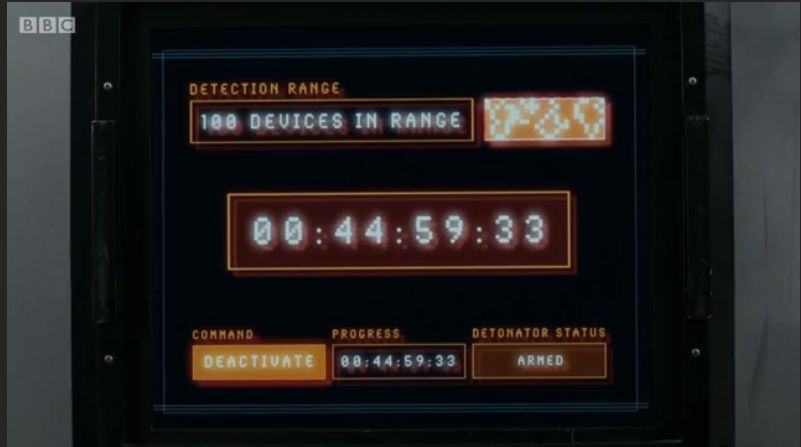 Nice count down clock from a recent Doctor Who episode.