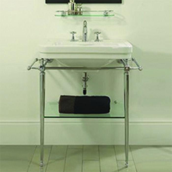 Grand lavabo chelsea et sa console pour salle de bain imperial deco salle de bain lavabo - Console salle de bain ...