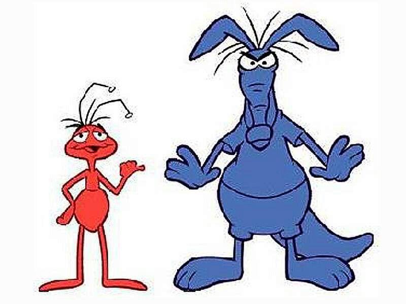 El Oso Hormiguero Y La Hormiga Con Imagenes Dibujos Animados