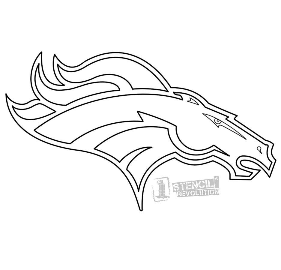 - Denver Broncos Stencils (With Images) Denver Broncos Logo