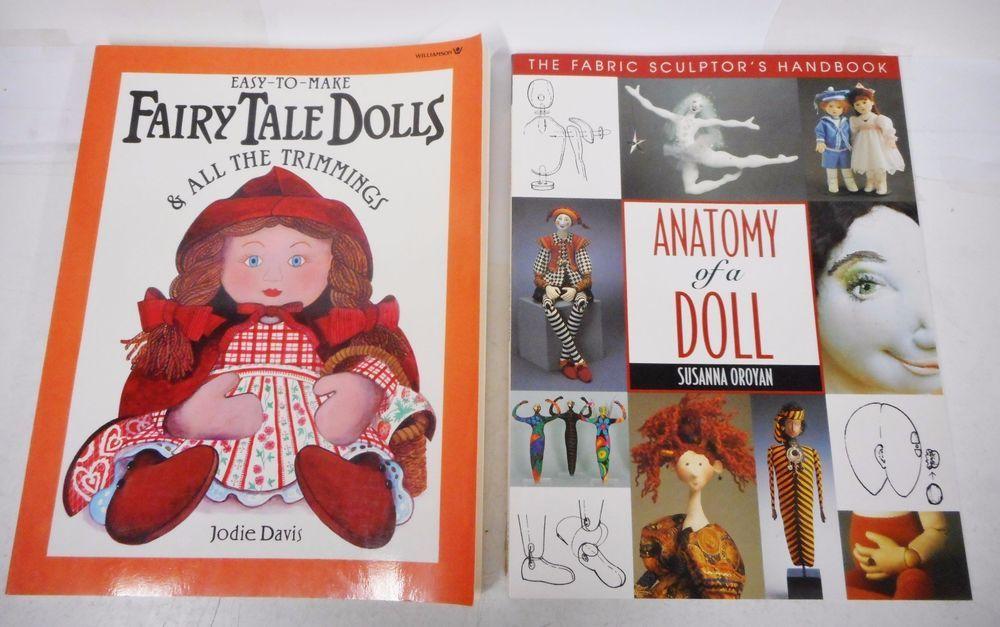 Dollmaking Fairy Tale Anatomy Fabric Sculptor Handbook ...