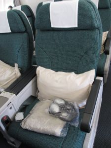 Cathay Pacific Premium Economy - the frugalfirstclasstravel review