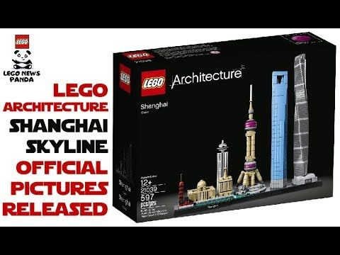 LEGO SHANGHAI SKYLINE OFFICIAL PICTURES RELEASED - LEGO ARCHITECTURE ...