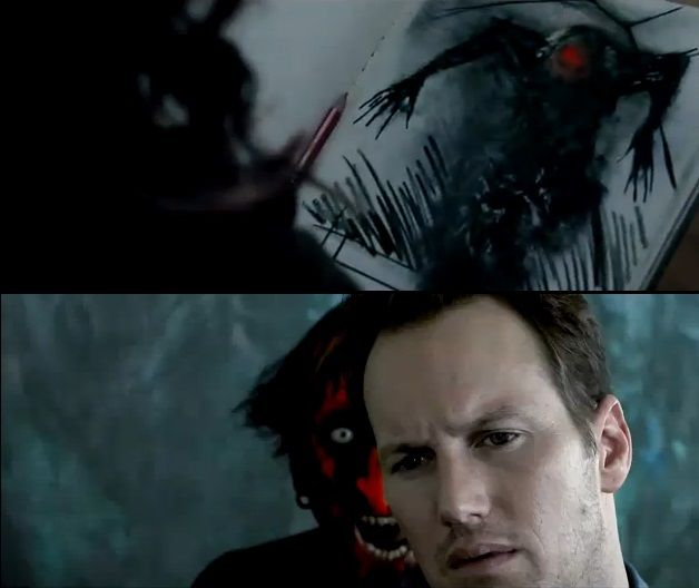 Red Face Demon From Insidious Putting A Face On Our Demons As