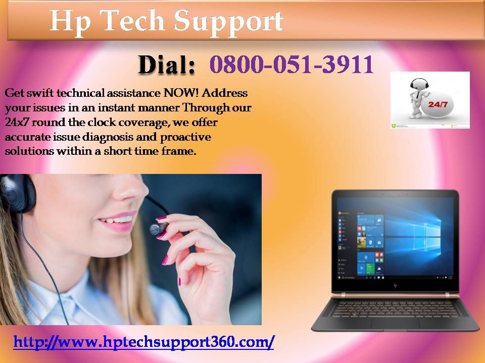 Call at 08000513911 HP customer care number For any