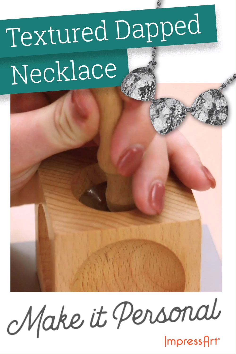 Photo of Necklace Tutorial -Jewelry Stamping