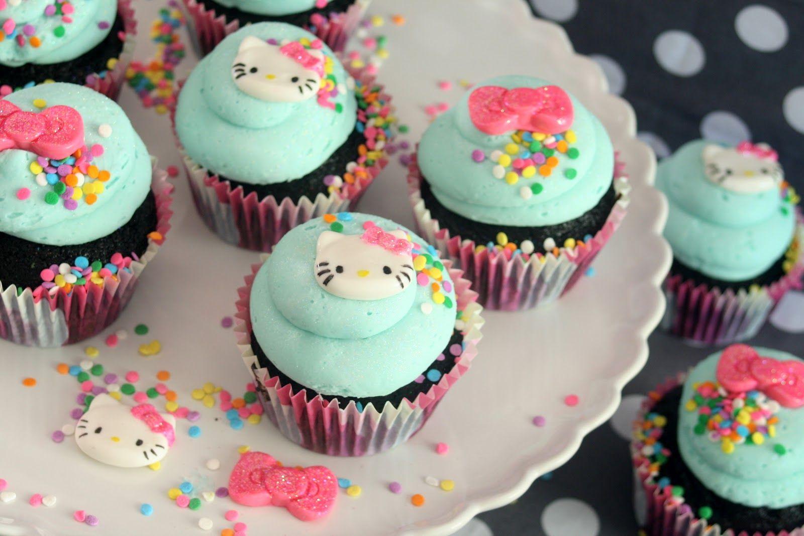 Astonishing Hello Kitty Birthday Cupcakes Hello Kitty Cupcakes Hello Kitty Personalised Birthday Cards Paralily Jamesorg