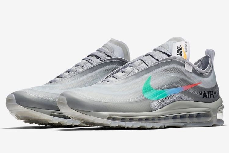 """finest selection 6bb11 4759e Off-White x Nike Air Max 97 """"Menta"""""""
