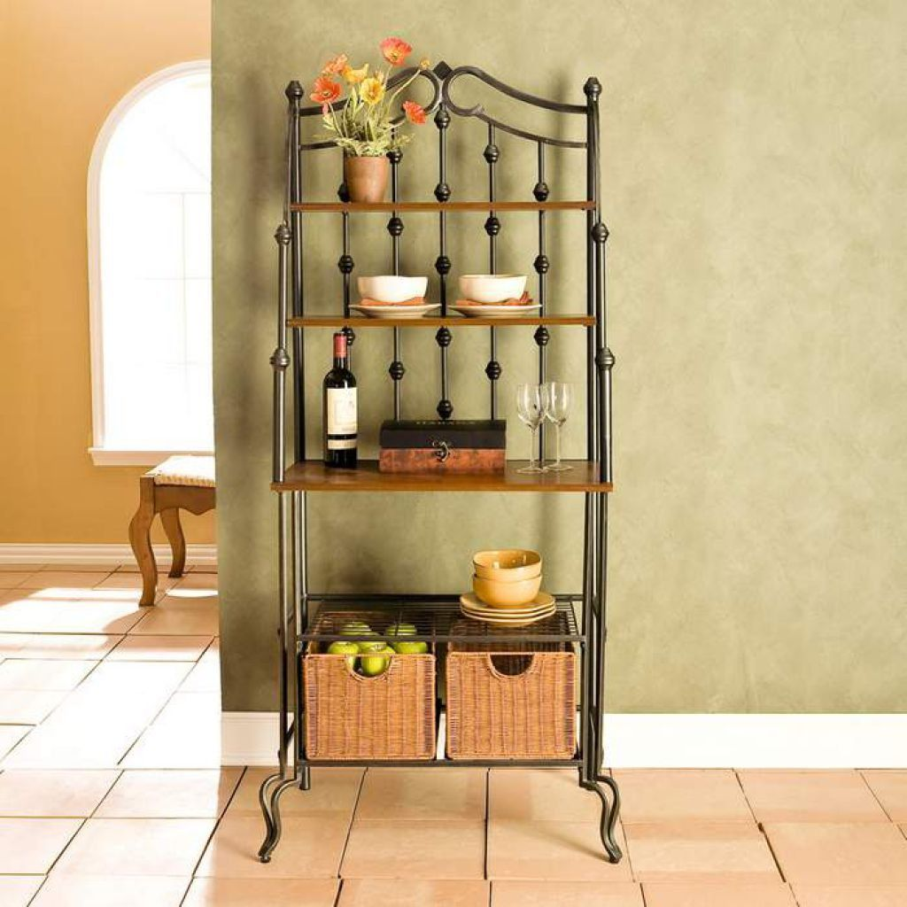 Bakers Rack For A Perfect Addition To Your Kitchen Muebles