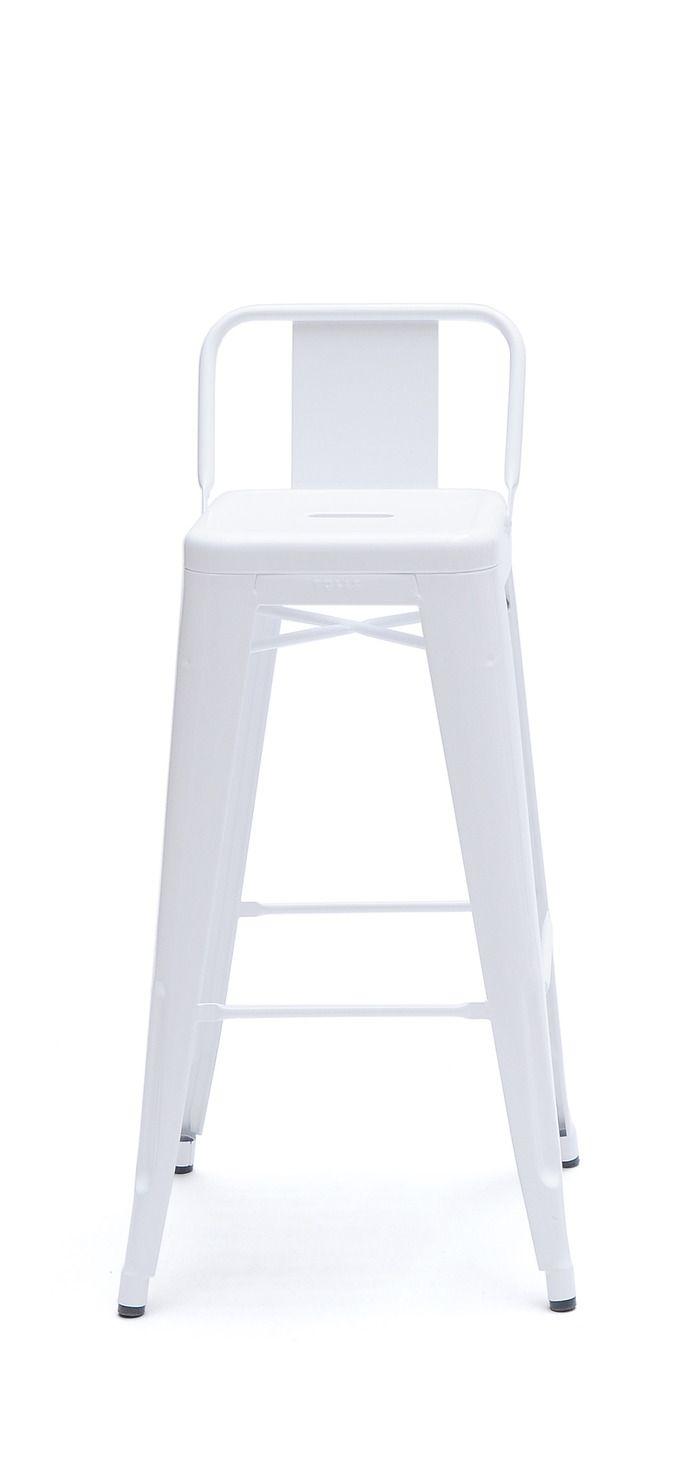 Tolix Stools With Backrest Seats Stool Tolix Stool Unique Chaise