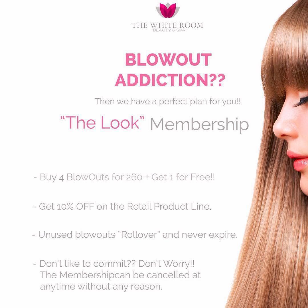 Addicted to blowouts??? Then we have something perfect for you!! #blowdryaddiction #whiteroomspadubai #hairswag