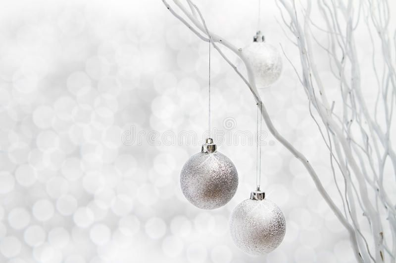 White Christmas Background Silver Balls Silver Christmas Decorations Hanging Fr Ad Silver White Christmas Background White Christmas Christmas Background