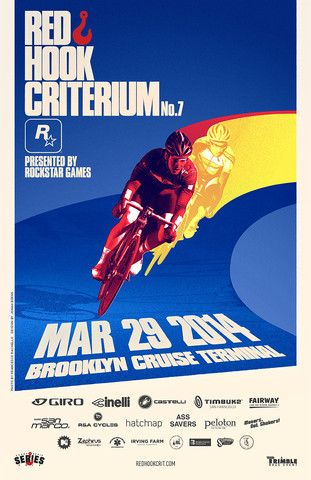 Red Hook Criterium Brooklyn No. 7 Official Poster