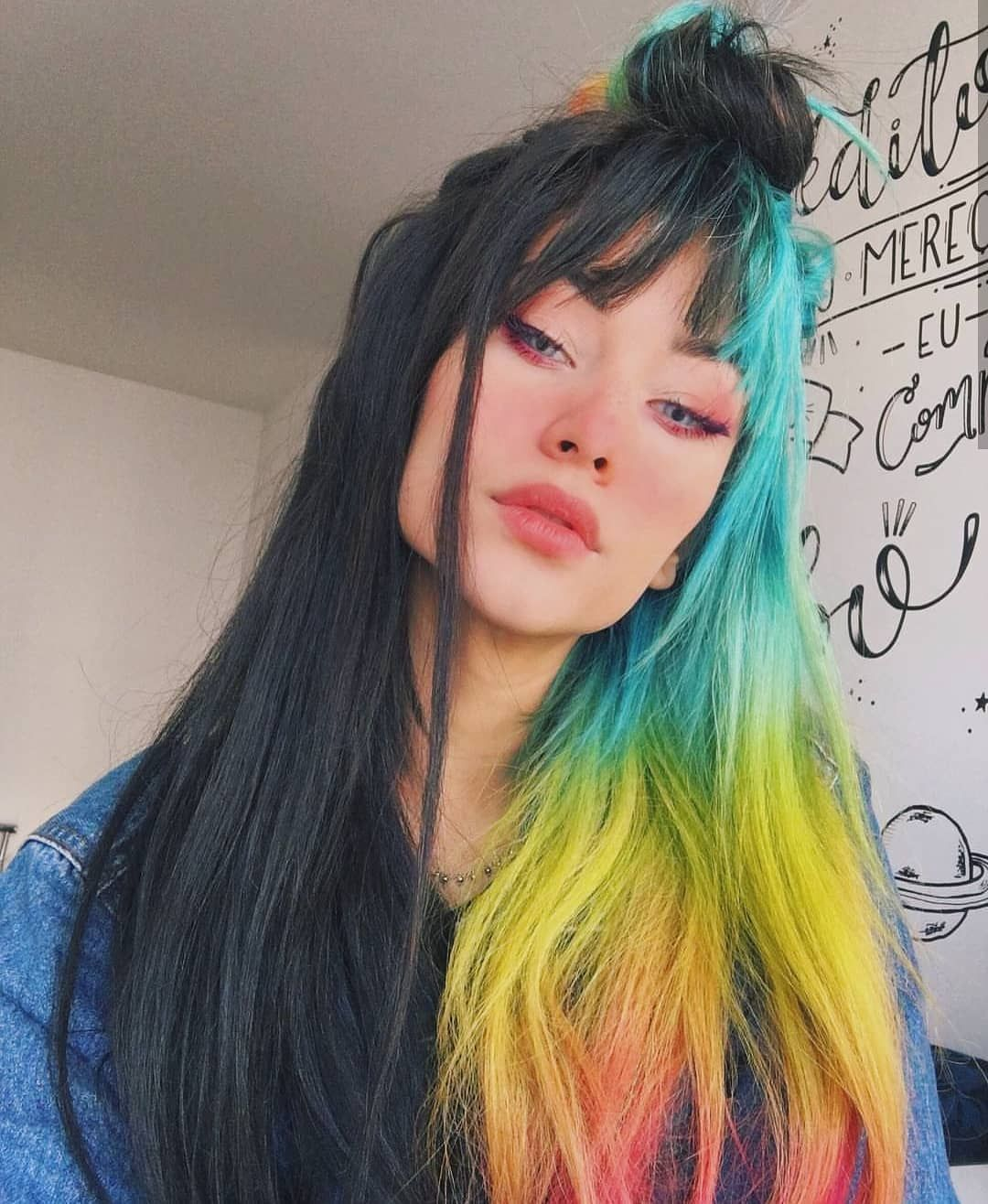 Hair Inspo Rp Findkaryna Hair Styles Grunge Hair Split Hair
