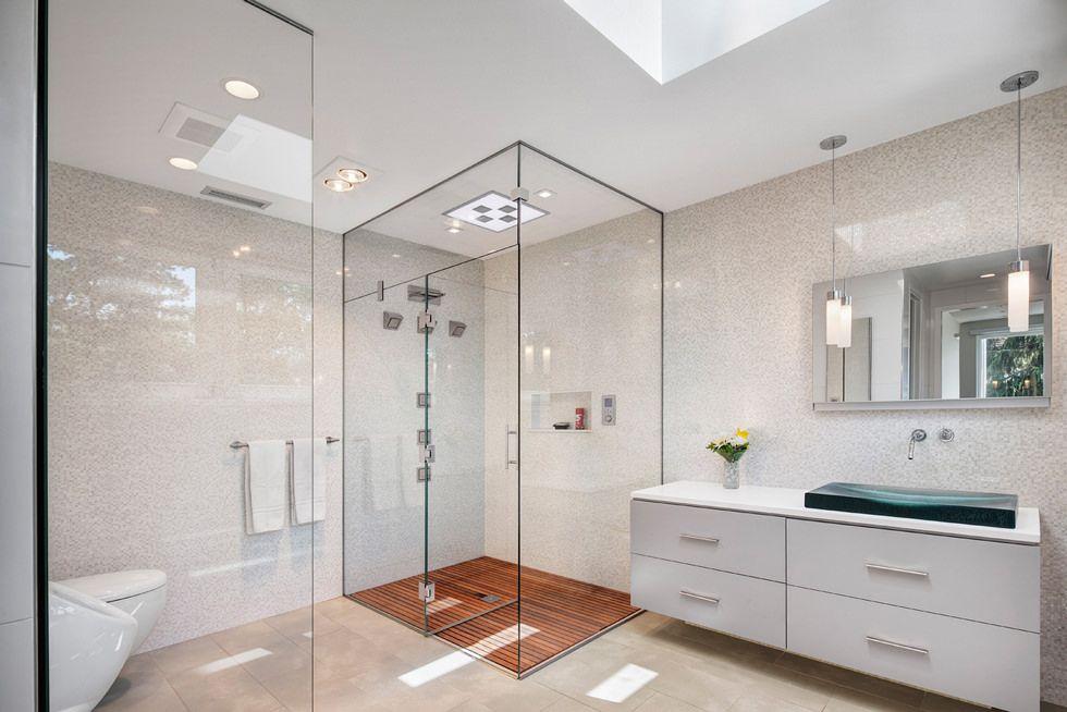 Mosaico bagno • 100 idee per rivestire con stile bagni moderni e ...