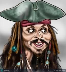 """""""Captain Jack"""" #Creative #Art in #digital-art @Touchtalent http://bit.ly/Touchtalent-p"""