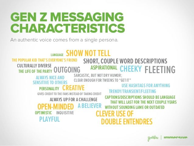Over 100 Eye Opening Stats About Generation Z 40 638 Jpg 638 479 How To Be Outgoing Sarcastic Words