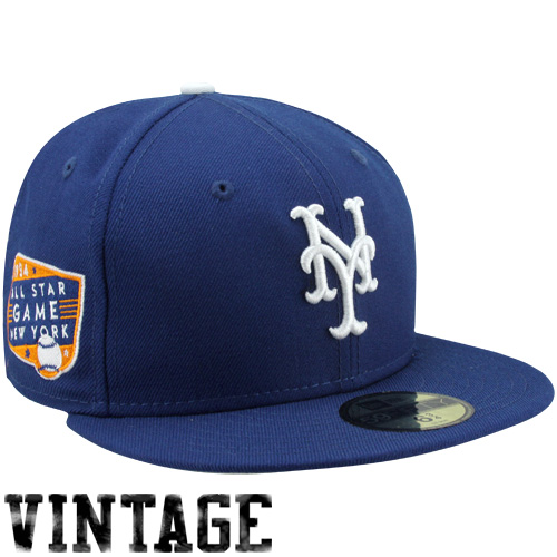 New Era New York Yankees 1934 Cooperstown All-Star Patch 59FIFTY Fitted Hat  - Royal Blue 6029dd2eb8c2a