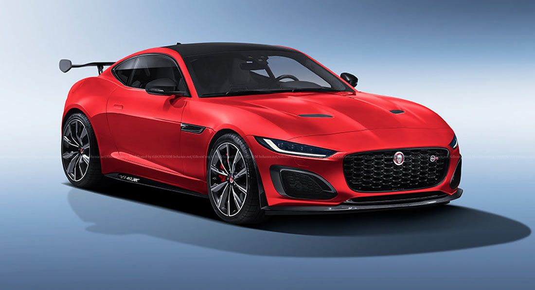 This Rendering For The Jaguar F Type Svr Takes Inspiration From The Impressive Xe Sv Project 8 In 2020 Jaguar F Type Jaguar Jaguar Xe