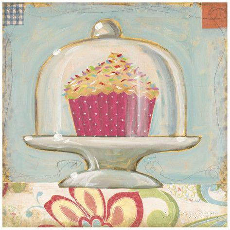 One Sprinkle Cupcake Poster von K. Tobin - AllPosters.at