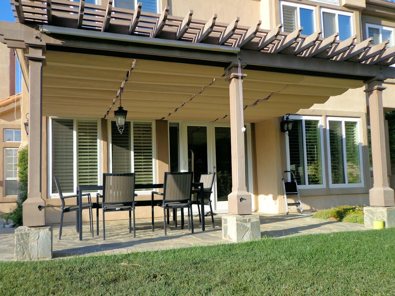 Slide Wire Cable Awnings | Superior Awning - Part 2 ...