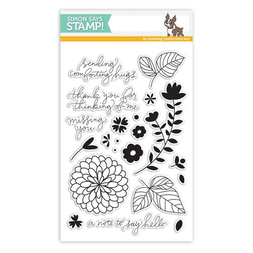 Simon Says Clear Stamps HANDWRITTEN FLORAL GREETINGS SSS101627 at Simon Says STAMP!