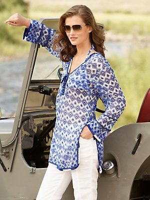 love this tunic - must get me one for this summer