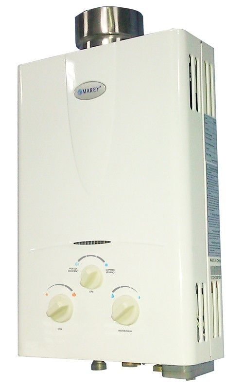Tankless Hot Water Heater Propane Gas 4.3 GPM 4 Bath Whole House - Marey 764177430991 on eBid United States