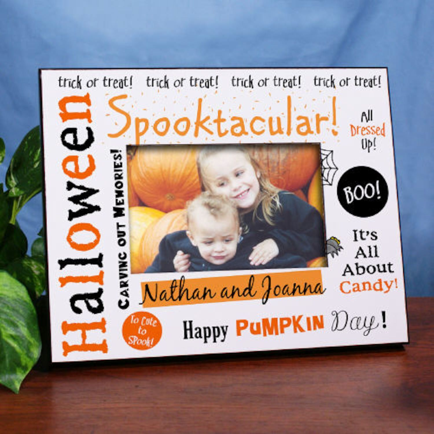 Personalized Spooktacular Halloween Printed Frame | Products ...